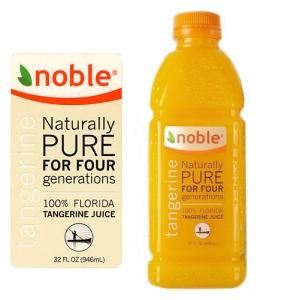 Tangerine-Juice-Label