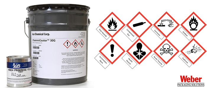 Chemical Amp Ghs Labels Labelling Systems Inkjet Weber