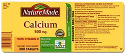 nature-made-calcium-label